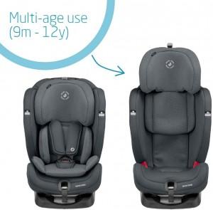 Maxi-Cosi Titan Plus car seat Authentic Graphite